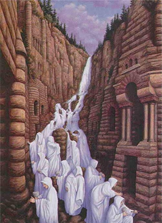 waterfalls Rob Gonsalves