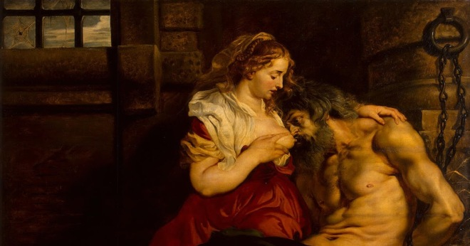 Rubens Pieter Paul - Roman Charity