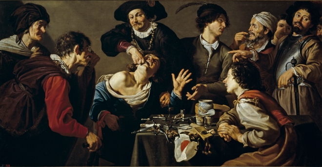 Theodoor_Rombouts_-_The_quack_tooth_puller